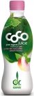 Dr. Martins coconut water with green tea flavored with peach BIO