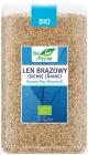 Planet Organic Flax linen brązowy.Siemię BIO