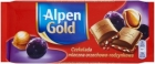 Alpen Or Chocolat au lait de noix de raisin 90 g