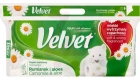 Naturalmente Velvet cuidado el papel higiénico de manzanilla