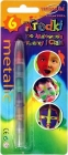 Titanum crayons to paint faces and bodies 6 colors Metallic