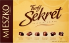 Mieszko chocolates Your Secret stuffed chocolate dessert and milk mix of 6 flavors