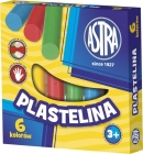 Astra plasticine 6 colors