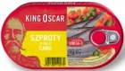 King Oscar Sprat in oil caro