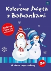 "Interdruk Coloring ""Colourful Christmas with bałwankami"" coloring and fun stickers"