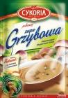 La achicoria sopa de champiñón