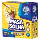 Astra masa solna 450g+ 6 farb   3