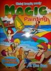 A4 para colorear pintura para pintar con agua gota de agua , el mar