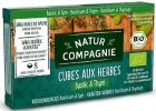 Natur Compagnie Herbal bouillon cubes with basil and thyme BIO