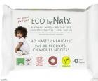 Naty lingettes de toilette enrichi à l'extrait d'aloe vera et rumiaku 100% ECO
