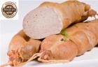 Traditionnelle alimentaire Foie cuit à la vapeur, fumée