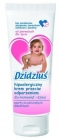 Hypoallergenic baby cream against chafes for infants and children