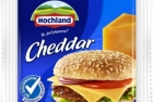 Hochland processed cheese slices Cheddar