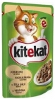 Kitekat wet cat food with veal 100 g
