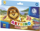 Astra crayons Astrino 24 colors