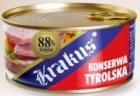Krakus Tiroler 88% der Schweinefleisch in Dosen