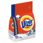 Vizir Alpine Frische Pulver 1,5kg bis weiß und leichte Stoffe Waschen