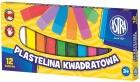 Astra carré Plasticine 12 couleurs