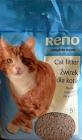 Reno arena para gatos natural, la formación de grumos