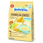 BoboVita serving of cereal porridge milk banana corn-rice
