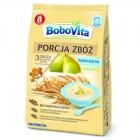 BoboVita Portion Getreidebrei Milch Birne 3 wielozbożowa Korn, Roggen, Vollkorn