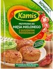 Kamis condimento para los tomates secados al sol carne picada