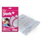 York sac à linge avec une fermeture éclair 30x40 cm
