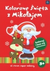 "Interdruk Coloring ""Colourful Christmas with Santa Claus' coloring and fun stickers"