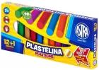 Astra Plastelina 12 kolorów+ 1