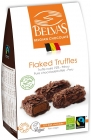 BELVAS Belgian chocolates truffle dark chocolate 72% BIO