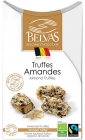 BELVAS Belgian chocolate truffle with almonds BIO