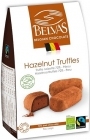 BELVAS Belgian chocolate truffle with hazelnuts BIO