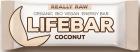 Lifefood Coconut bar RAW sin gluten BIO