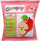 Crispy Natural Chrupsy Dried apple crisps with strawberry juice