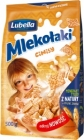 Lubella Mlekołaki Cinisy Cereal boxes with cinnamon