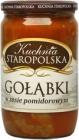 Vieja de la cocina polaca col rellena en salsa de tomate