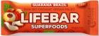 Bastón Lifefood con nueces de Brasil y BIO sin gluten de guaraná