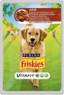 Friskies Adult Complete food for adult dogs sachet with lamb and carrot sauce