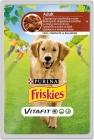 Friskies Adult Alleinfuttermittel für ausgewachsene Hunde Sachet mit Lamm und Karottensauce