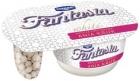 Danone Fantasia white yogurt cream with coconut balls