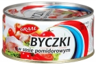 Graal Byczki à la sauce tomate