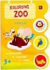 "Interdruk coloring book with stickers ""Colourful Zoo"""