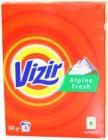 Vizir Waschpulver weißen Stoffen und hellen Farben Alpine Frische