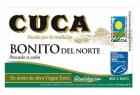 Cuca альбакора Бонито BIO оливковое масло