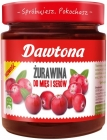 Dawtona Cranberries to meats and cheeses