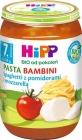 Hipp Паста бамбини Спагетти с помидорами и сыром моцарелла