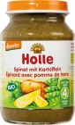 Holle spinach with potatoes gluten free BIO