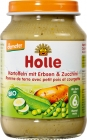 Holle potatoes with peas and zucchini gluten free BIO