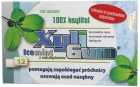 Xyligum chewing gum flavored with a mild mint and eucalyptus 100% xylitol