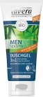 Lavera Men Sensitive Shampoo Hair & Body 3 en 1 avec des extraits de biobambusa et bioguarany